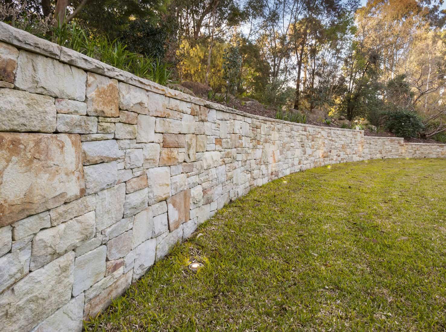retaining wall blocks Las Vegas